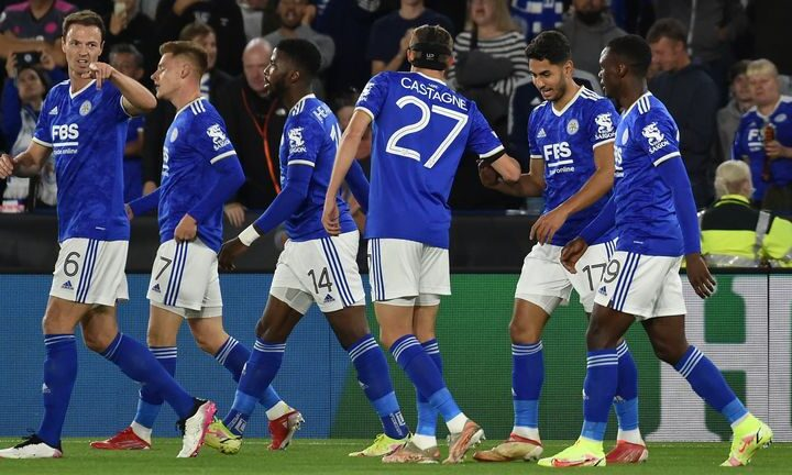 Leicester City drew 2-2 with Napoli, bringing the group's top two teams to within a point of each other